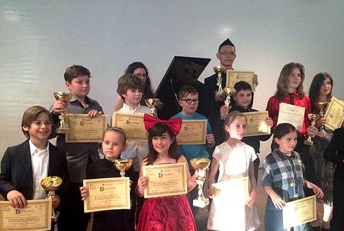 """Vincitori del X Concorso Pianistico Internazionale """"Mozart"""""""